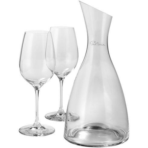 Prestige Dekanter mit 2 Weingläsern