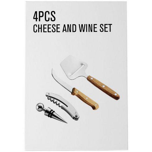 Nantes Wein- und Käse-Geschenkset, 4-teilig
