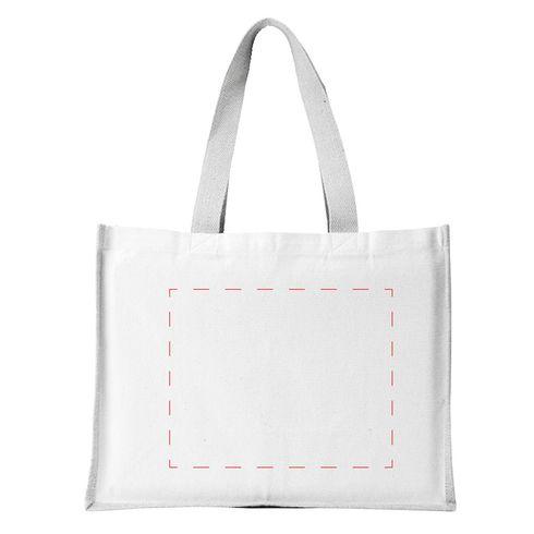 Jute Canvas Shopper bag