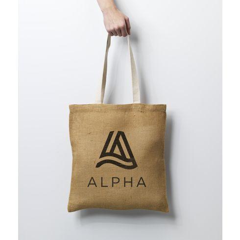 Geneva Jute Shopper Tasche