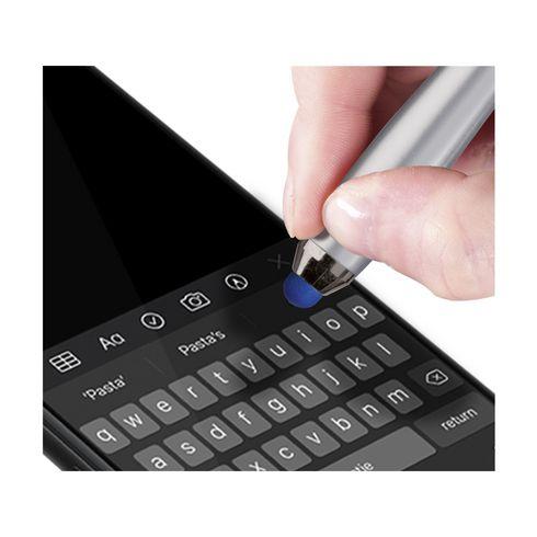 Athos® Touchscreen-Kugelschreiber mit farbigem, rutschfestem Griff