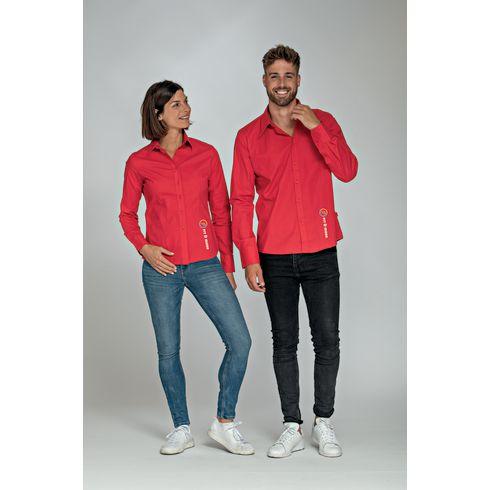 L&S Poplin Longsleeve Herrenhemd