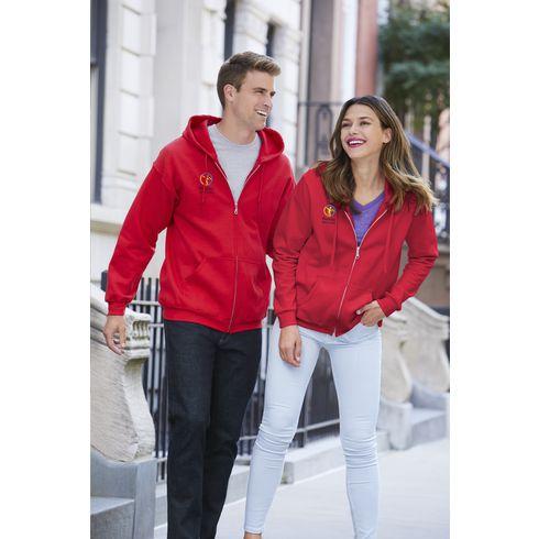 Gildan Heavyblend Hooded Full-Zip Sweater Damen Jacke
