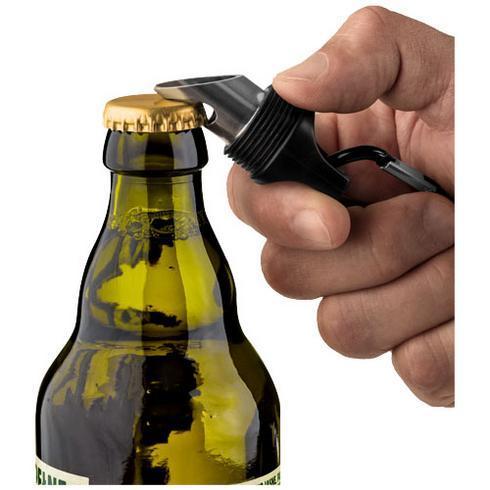 Omega 6 LED-Taschenlampe und Flaschenöffner