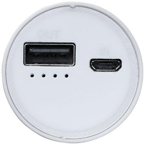 Bliz 6000 mAh Powerbank mit 2-in-1-Kabel