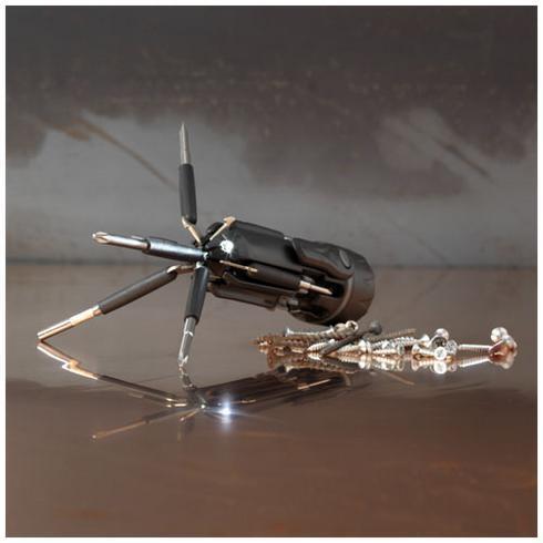 Spidey 8-in-1-Schraubenzieher mit Taschenlampe