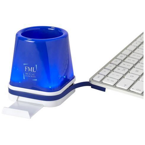 Shine 4-in-1 USB Schreibtisch Hub