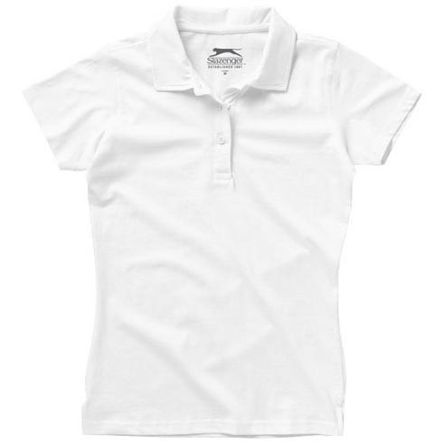 Let Jersey Poloshirt für Damen
