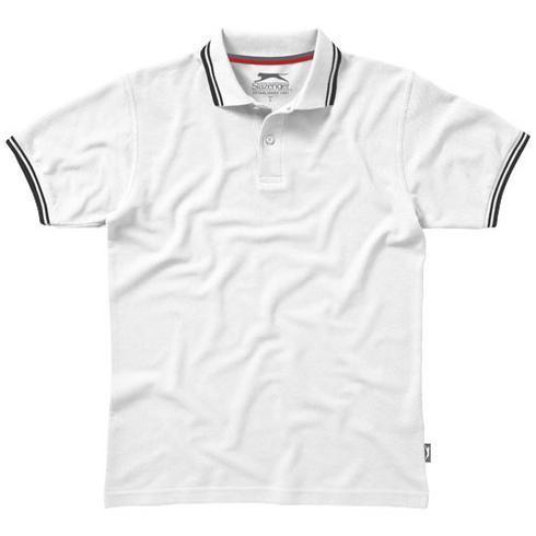 Deuce Poloshirt mit weißem Rand für Herren