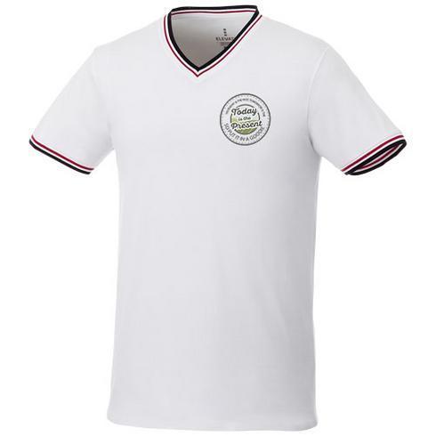 Elbert Piqué T-Shirt für Herren